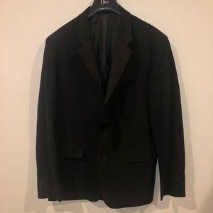 Theory men's suit top black size 42R